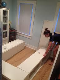 diy storage bed. 98 Best Bedroom DIY Storage Bed \u0026 Headboard Images On Diy E