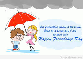 wishes happy friendship day cartoons