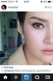 ying rata thai actress nongchat make up about s stuff makeup eye and looks