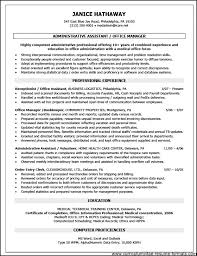 Gallery Of Objective Front Office Executive Resume Free Samples