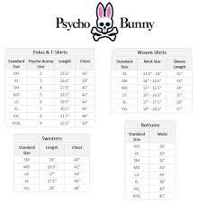 Psycho Bunny Size Chart Psycho Bunny Classic Polo Zappos Com