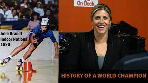 Julie Glass - History of a World Champion Skater - YouTube