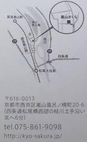 嵐山さくら初訪問 関谷江里の京都暮らし時々パリ