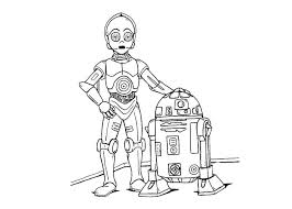 Small Picture Star Wars Robots Coloring Pages Maelukecom