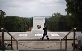 tomb of the unknown ier tag newshour veterans day