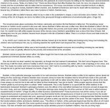 notes of a native son summary essays