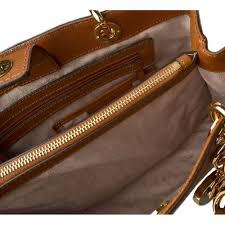 cynthia tan saffiano leather satchel