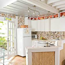 beach house kitchen designs. Shell Backsplash- Coastal And Beach Backsplash Ideas House Kitchen Designs