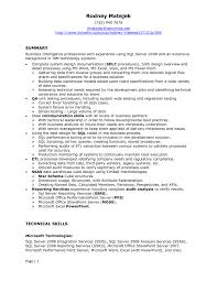 Sql Developer Resume Uxhandy Com