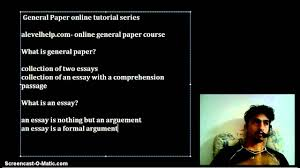 what is general paper what is general paper
