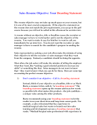 Cover Letter An Objective Statement For A Resume Best Way To Write