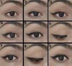 try this winged eye make up tutorial simple