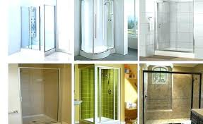types of glass shower doors types of shower doors cardinal framed glass doors types of glass