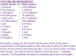 English To Metric System Conversion Chart Grades 6 7 And 8 Math Middle School Measurement