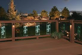 Outdoor deck lighting ideas pictures Terrace Outdoor Deck Lighting Ideas Deck Railing Lighting Ideas With Stained Glass Panel Lights Full Size Outdoor Lighting Perspectives Of Puget Sound Outdoor Deck Lighting Ideas Deck Railing Lighting Ideas With Stained