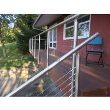 modern cable fence. Unique Fence Modern Metal Fence Stainless Steel Stairs Rails Cable Railing In R