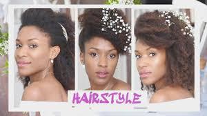Mariage 1515 15 Coiffures Simples Cheveux Naturel Crépus
