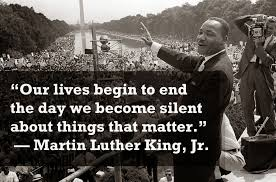 Image result for silence in the face of injustice is complicity with the oppressor