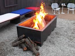 image of portable outdoor fireplaces wood burning