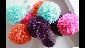 Diy Crepe Paper Flower Balls How To Diy Paper Pom Tutorial Decorations That Impress