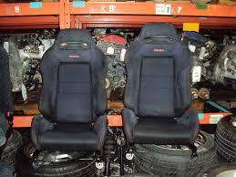 jdm 1994 2001 acura integra type r recaro front seats black