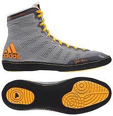 adidas wrestling shoes. adidas adizero™ varner wrestling shoes, color: gry/blk/gold shoes