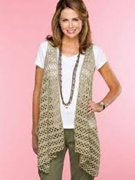 Free Crochet Vest Patterns Magnificent Crochet Vest Pattern Free Buscar Con Google Httpwww48wtfnet