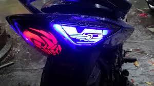 Exciter 135 độ đèn Led audi và đèn gù tay lái