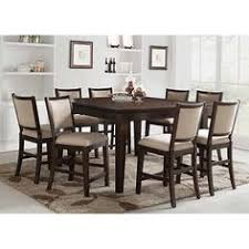 callen counter height dining set counter height table 8 counter height self storing erfly leaf tucks neatly inside tablerubberwood and cherry