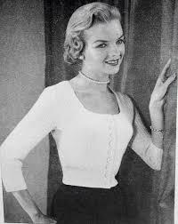 Vintage Knitting Patterns Enchanting INSTANT PDF PATTERN 48s Vintage Knitting Pattern Marilyn Monroe