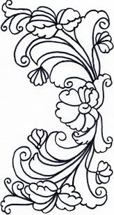 Rosmaling Coloring Pages Recreation Activities Rosemaling