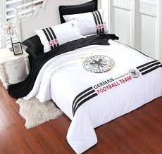 soccer bedding sheets the world cup soccer cotton bedding set for king full queen beds reversible