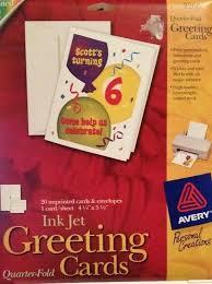 Avery Greeting Cards Avery Greeting Card Guluca