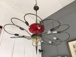 italian murano glass 12 arm chandelier 1980s 1