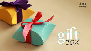 Diy Art How To Make Gift Box Easy Diy Arts And Crafts Youtube
