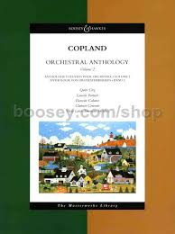 copland orchestral works aaron copland orchestral anthology 2