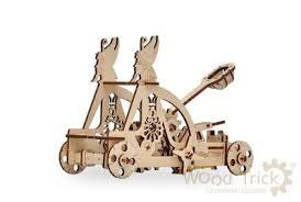 <b>Набор из фанеры Wood</b> trick 1234-09 Катапульта | www.gt-a.ru