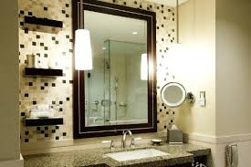 lighting for small bathrooms. small bathroom with sconce lighting for bathrooms a