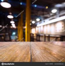 restaurant table top lighting. Table Top Bar Blur Lighting Restaurant With Counter Seats \u2014 Stock Photo O