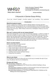 keywords in german essay writing by nozh teaching resources tes