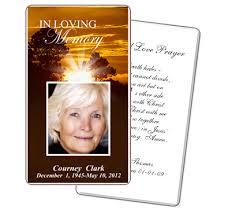 Memorial Card Template Free Funeral Cards Rome Fontanacountryinn Com