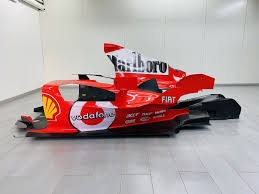 The centre of gravity of the f2004 was lower than on previous models and the weight distribution of the engine and the chassis was perfected. Ferrari F2004 Engine Cover And Floor Classic Driver Market