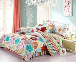 great teen full size bedding various colorful beautiful flowers teen girls bedding sets full queen size