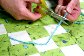 How to Tie a Quilt Tutorial - Quilting Tutorial from ... & How to Tie a Quilt Tutorial - Quilting Tutorial from ConnectingThreads.com Adamdwight.com