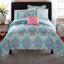 topic to remarkable seaglass paisley 8 pc comforter bed set bedding primark o01