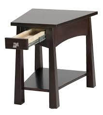 modern black living room small wooden end tables furnitures