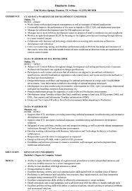 Data Warehouse Resume Examples Data Warehouse Resume Samples Velvet Jobs 8