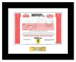 Buy Ferrari Stock As A Gift One Share Of Ferrari In Just 1 Minute