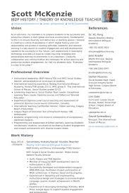 History Teacher Resumes - East.keywesthideaways.co