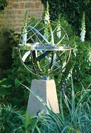 armillary sphere garden sundials spheres for the from decor